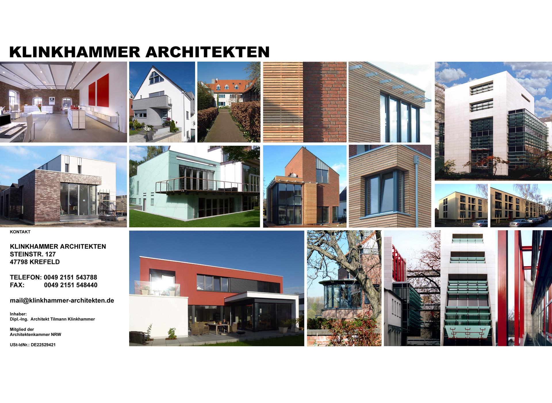 Architekt Krefeld klinkhammer